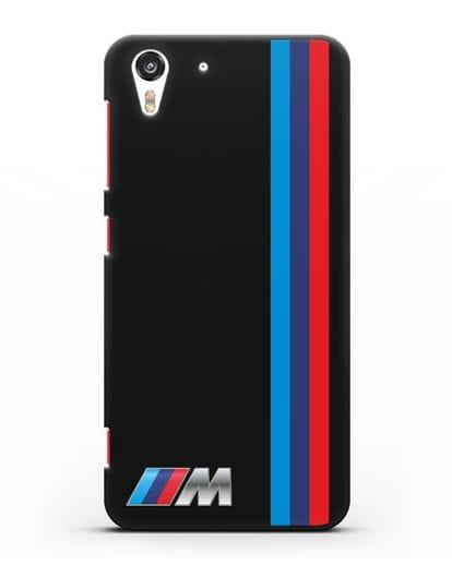 Чехол BMW M Perfomance силикон черный для HTC Desire Eye