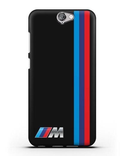 Чехол BMW M Perfomance силикон черный для HTC One A9