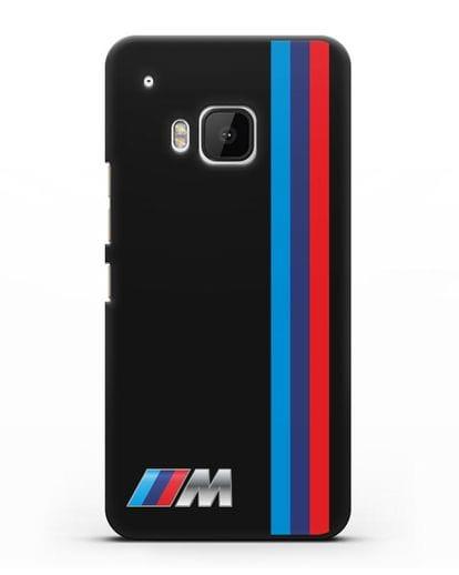 Чехол BMW M Perfomance силикон черный для HTC One M9