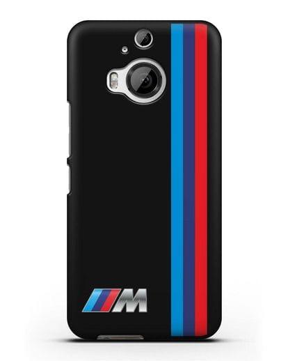 Чехол BMW M Perfomance силикон черный для HTC One M9 Plus