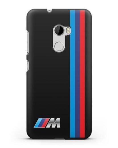 Чехол BMW M Perfomance силикон черный для HTC One X10