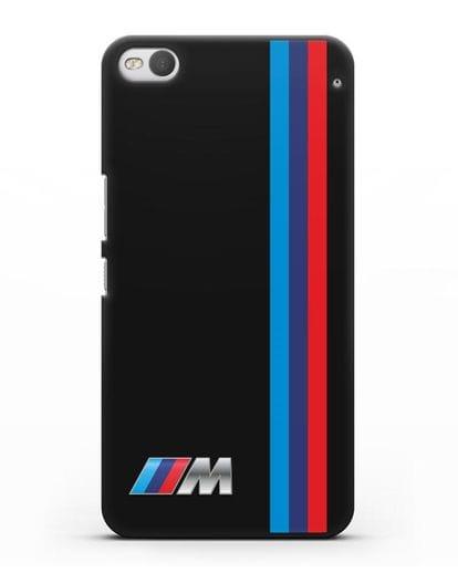 Чехол BMW M Perfomance силикон черный для HTC One X9