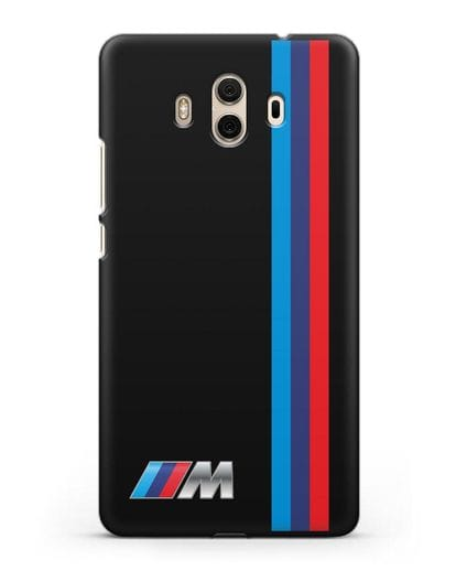 Чехол BMW M Perfomance силикон черный для Huawei Mate 10