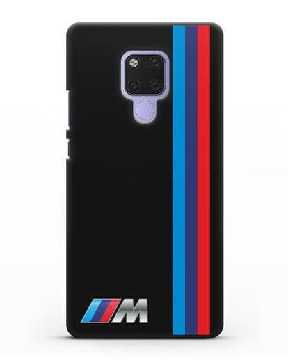 Чехол BMW M Perfomance силикон черный для Huawei Mate 20X