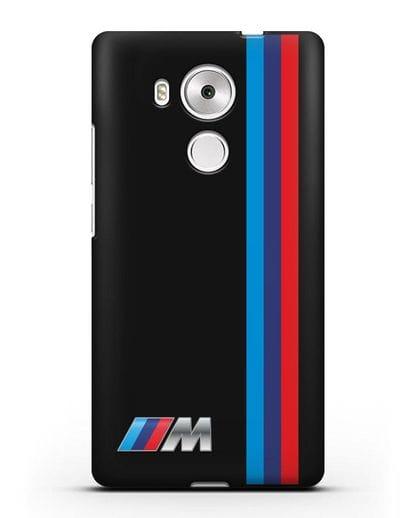 Чехол BMW M Perfomance силикон черный для Huawei Mate 8