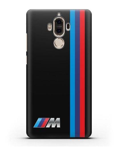 Чехол BMW M Perfomance силикон черный для Huawei Mate 9