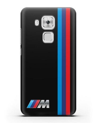 Чехол BMW M Perfomance силикон черный для Huawei Nova Plus