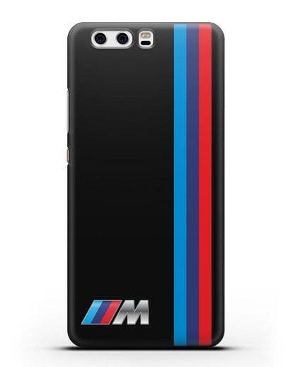 Чехол BMW M Perfomance силикон черный для Huawei P10