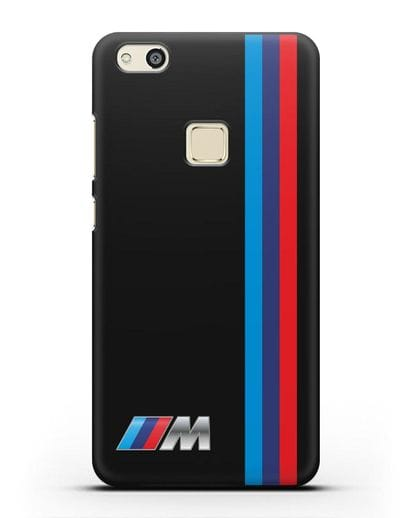 Чехол BMW M Perfomance силикон черный для Huawei P10 Lite