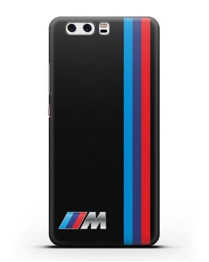 Чехол BMW M Perfomance силикон черный для Huawei P10 Plus