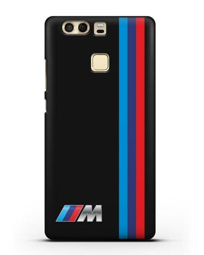Чехол BMW M Perfomance силикон черный для Huawei P9 Plus