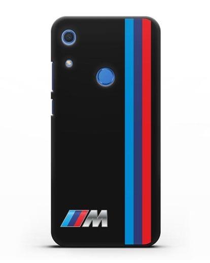 Чехол BMW M Perfomance силикон черный для Huawei Y6s