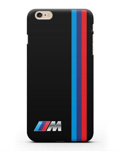 Чехол BMW M Perfomance силикон черный для iPhone 6 Plus