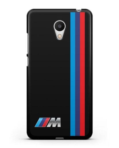 Чехол BMW M Perfomance силикон черный для MEIZU M6