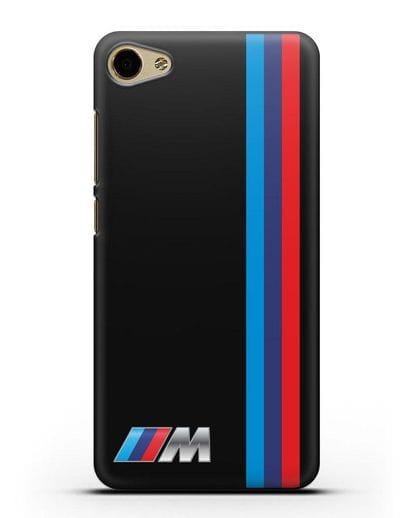 Чехол BMW M Perfomance силикон черный для MEIZU U20