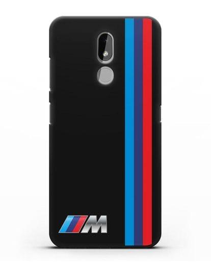 Чехол BMW M Perfomance силикон черный для Nokia 3.2 2019