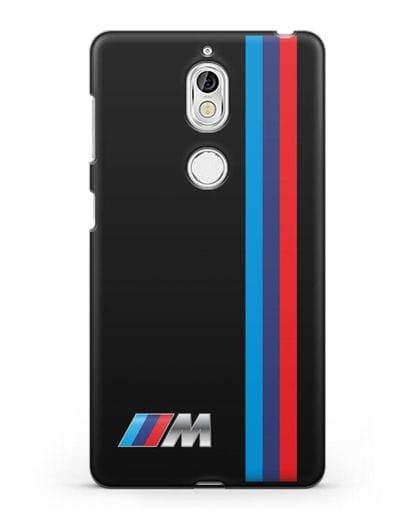 Чехол BMW M Perfomance силикон черный для Nokia 7