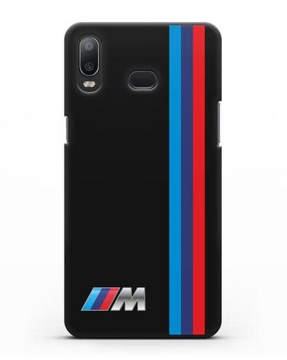 Чехол BMW M Perfomance силикон черный для Samsung Galaxy A6s [SM-G6200]