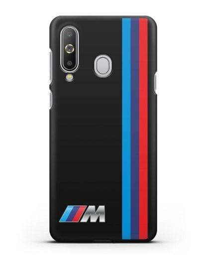 Чехол BMW M Perfomance силикон черный для Samsung Galaxy A8s [SM-G8870]