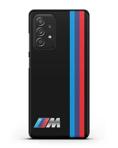 Чехол BMW M Perfomance силикон черный для Samsung Galaxy A52 [SM-A525F]