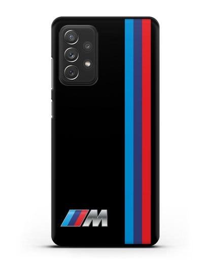 Чехол BMW M Perfomance силикон черный для Samsung Galaxy A72 [SM-A725F]