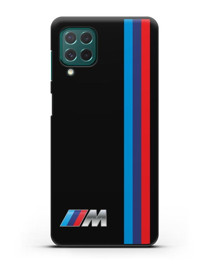 Чехол BMW M Perfomance силикон черный для Samsung Galaxy M62 [SM-M625F]