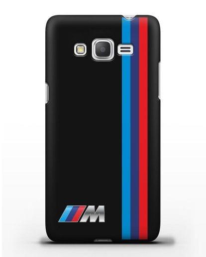 Чехол BMW M Perfomance силикон черный для Samsung Galaxy Grand Prime [SM-G530]