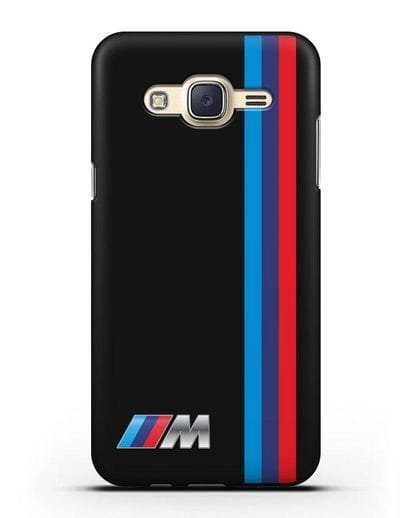 Чехол BMW M Perfomance силикон черный для Samsung Galaxy J7 2015 [SM-J700H]