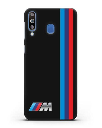 Чехол BMW M Perfomance силикон черный для Samsung Galaxy M30 [SM-M305F]