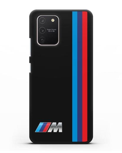 Чехол BMW M Perfomance силикон черный для Samsung Galaxy S10 lite [SM-G770F]