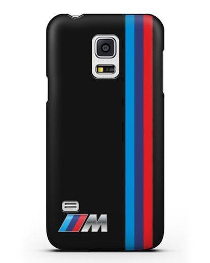 Чехол BMW M Perfomance силикон черный для Samsung Galaxy S5 Mini [SM-G800F]