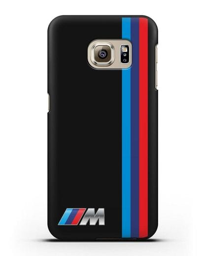 Чехол BMW M Perfomance силикон черный для Samsung Galaxy S6 Edge [SM-G925F]