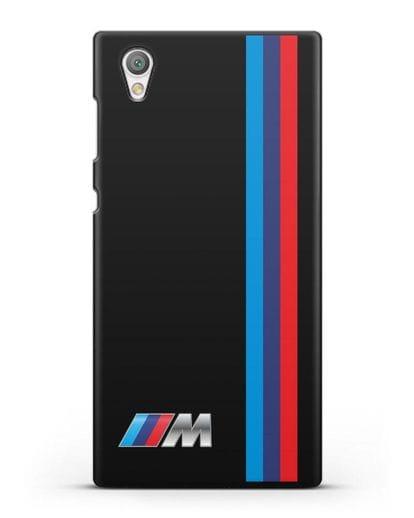 Чехол BMW M Perfomance силикон черный для Sony Xperia L1
