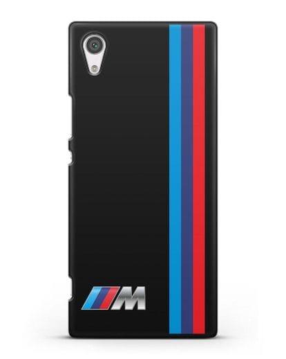 Чехол BMW M Perfomance силикон черный для Sony Xperia XA1