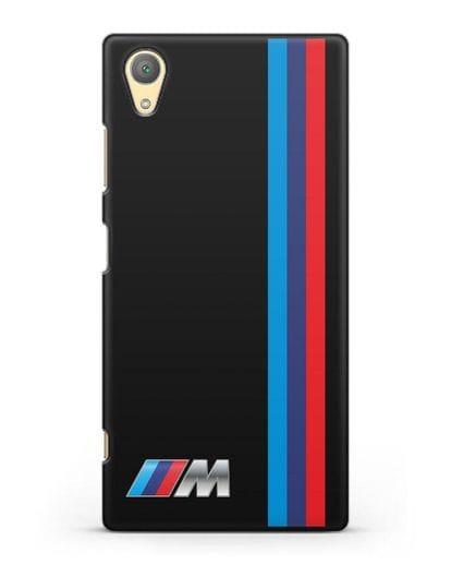 Чехол BMW M Perfomance силикон черный для Sony Xperia XA1 Plus