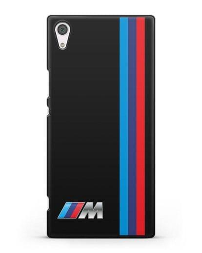 Чехол BMW M Perfomance силикон черный для Sony Xperia XA1 Ultra
