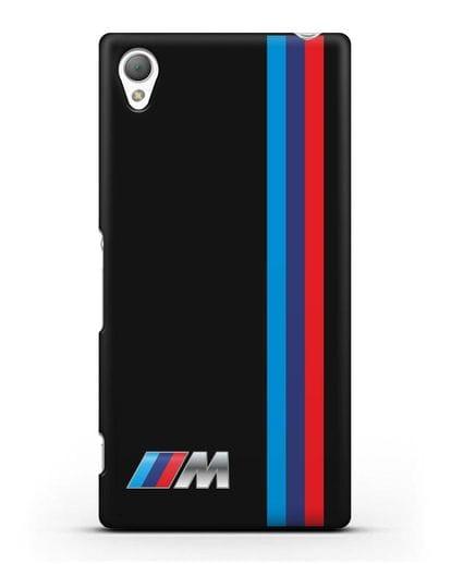 Чехол BMW M Perfomance силикон черный для Sony Xperia Z3