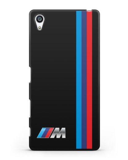 Чехол BMW M Perfomance силикон черный для Sony Xperia Z5 Premium