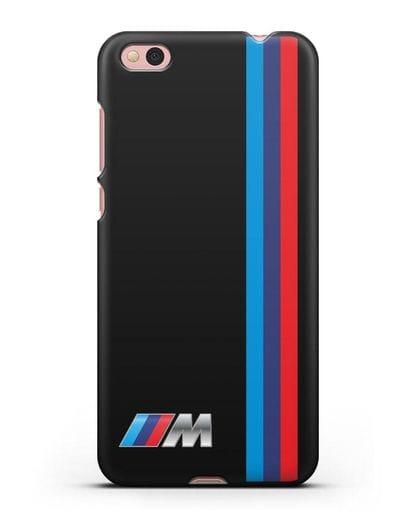Чехол BMW M Perfomance силикон черный для Xiaomi Mi 5С