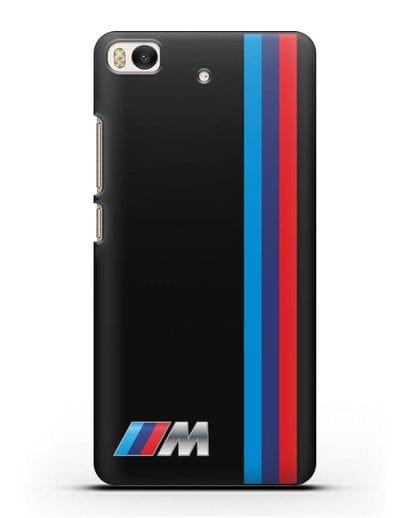 Чехол BMW M Perfomance силикон черный для Xiaomi Mi 5S
