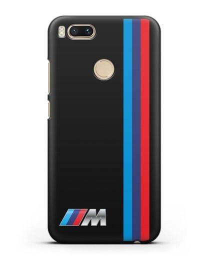 Чехол BMW M Perfomance силикон черный для Xiaomi Mi 5X