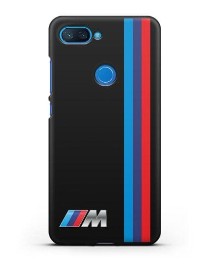 Чехол BMW M Perfomance силикон черный для Xiaomi Mi 8 Lite