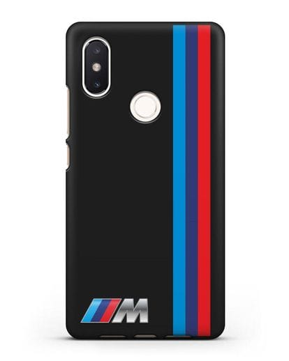 Чехол BMW M Perfomance силикон черный для Xiaomi Mi 8 SE