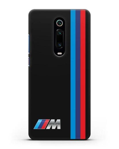 Чехол BMW M Perfomance силикон черный для Xiaomi Mi 9T