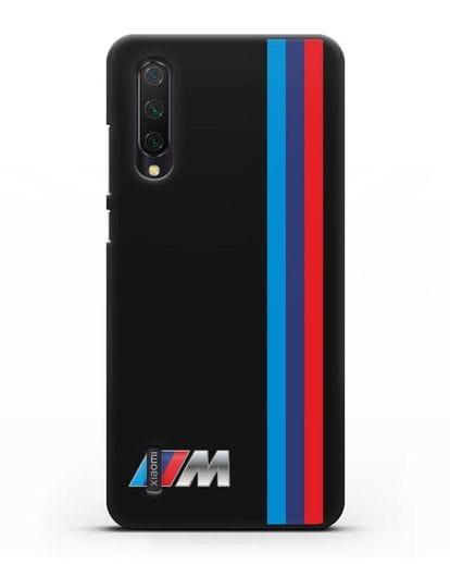Чехол BMW M Perfomance силикон черный для Xiaomi Mi CC9