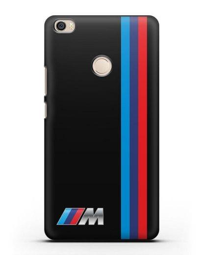Чехол BMW M Perfomance силикон черный для Xiaomi Mi Max