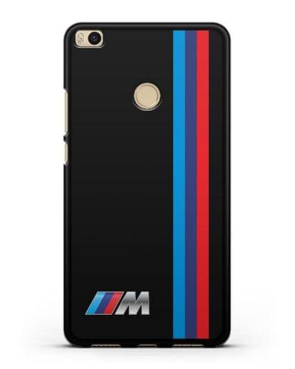 Чехол BMW M Perfomance силикон черный для Xiaomi Mi Max 2