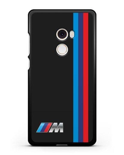 Чехол BMW M Perfomance силикон черный для Xiaomi Mi Mix 2