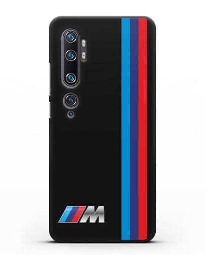 Чехол BMW M Perfomance силикон черный для Xiaomi Mi Note 10 Pro
