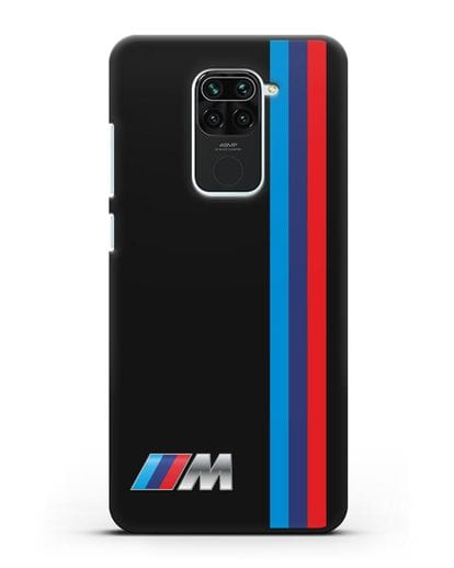 Чехол BMW M Perfomance силикон черный для Xiaomi Redmi 10X